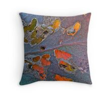 Leaves behind leaves 1 Throw Pillow