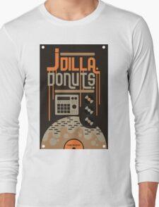 J DILLA DONUTS RIP Long Sleeve T-Shirt