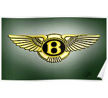 bentley logo Poster