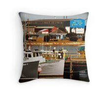 Portsmouth Naval Ship Yard Throw Pillow
