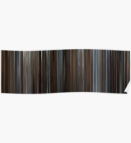 Moviebarcode: Inception (2010) Poster