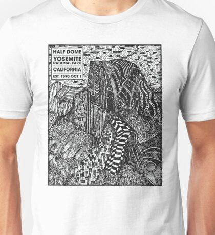 Half Dome Sketch Unisex T-Shirt