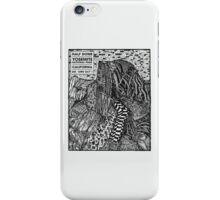 Half Dome Sketch iPhone Case/Skin