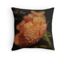 To The One I Love Throw Pillow
