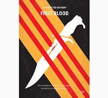 No288 My Rambo First Blood minimal movie poster T-Shirt