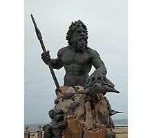 King Neptune Photographic Print