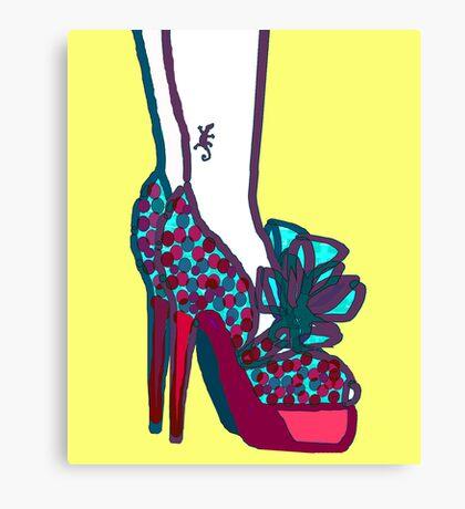 Extreme Shoes Canvas Print