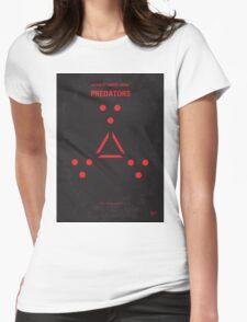 No289 My PREDATORS minimal movie poster Womens Fitted T-Shirt
