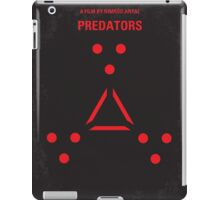 No289 My PREDATORS minimal movie poster iPad Case/Skin
