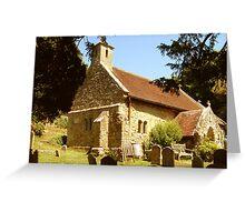 Old St Boniface Church. Greeting Card
