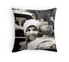 The Girl Child Throw Pillow