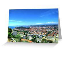 Nice (Nisa), Cote d'Azur, France Greeting Card