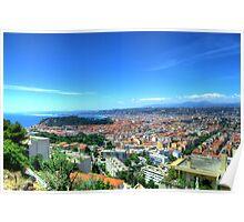Nice (Nisa), Cote d'Azur, France Poster