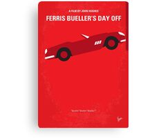 No292 My Ferris Bueller's day off minimal movie poster Canvas Print
