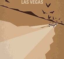 No293 My Fear and loathing Las vegas minimal movie poster by JinYong