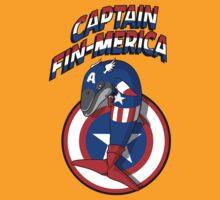 Captain Fin-merica by cubik