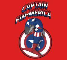 Captain Fin-merica Kids Clothes