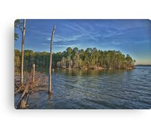 Lake Jordan North Carolina Canvas Print