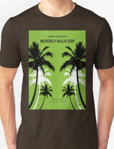 No294 My Beverly Hills cop minimal movie poster T-Shirt