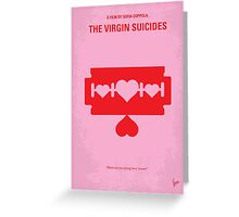 No297 My The Virgin Suicides minimal movie poster Greeting Card