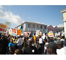 Bahamas Protest Photographic Print