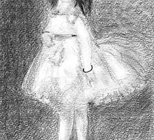 The Dancer after Edgar Degas. by Antony R James