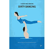 No298 My Dirty Dancing minimal movie poster Photographic Print