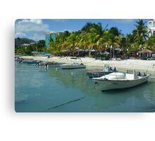 Caribbean Fleet Canvas Print