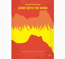 No299 My Gone With the Wind minimal movie poster Unisex T-Shirt