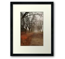 Anya in the Spring Fog Framed Print