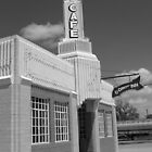 Route 66 - Conoco Tower Station by Frank Romeo