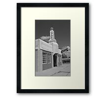 Route 66 - Conoco Tower Station Framed Print