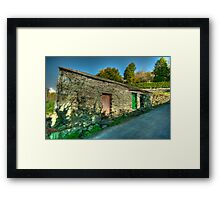 The Old Store Building Framed Print