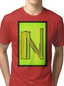 The Alphabet  The letter N Tri-blend T-Shirt