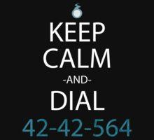 soul eater keep calm and dial 42-42-564 anime manga shirt by ToDum2Lov3
