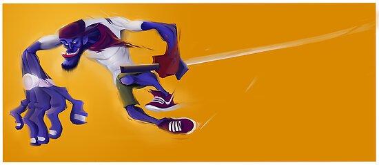 Street Ninja by st7001