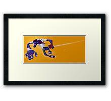 Street Ninja Framed Print