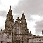 Cathedral at Santiago de Compostela, Spain  by Steve