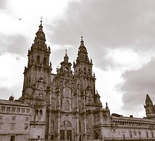 Cathedral at Santiago de Compostela, Spain  by Stephen Frost