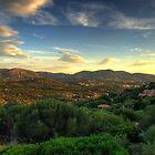 Sardinia - Sunset at Porto Istana, Costa Smeralda by TigerOPC