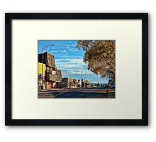 Downtown Columbia Falls (Montana, USA) Framed Print