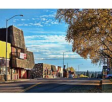 Downtown Columbia Falls (Montana, USA) Photographic Print