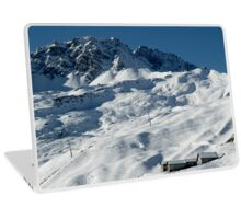 Swiss Winter Snow Scene Laptop Skin