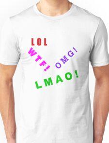 TEXTING LOL Unisex T-Shirt