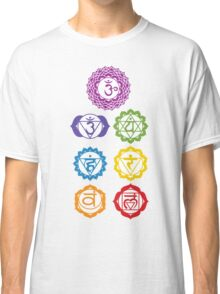 7 Chakras  Classic T-Shirt