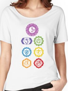 7 Chakras  Women's Relaxed Fit T-Shirt