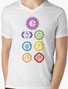 7 Chakras  Mens V-Neck T-Shirt