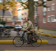 Amsterdam Commuter by Michael Irrera