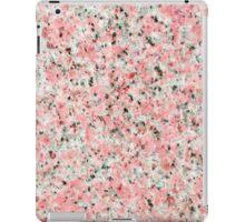 Elegant chic pink black marble modern pattern iPad Case/Skin