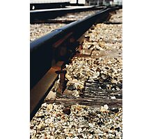 Train Spike Photographic Print